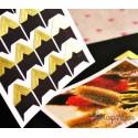 Уголки для фотографий, цвет золото, 1л, 24 уголка