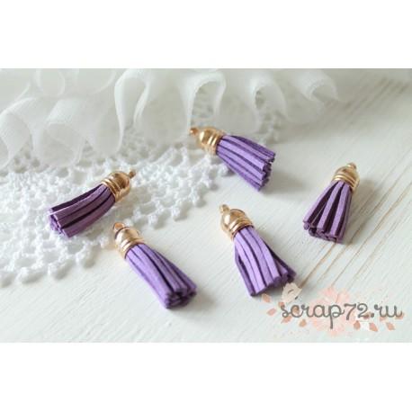 Подвеска-кисточки, цвет фиолетовый, 1шт.