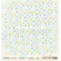 Лист бумаги для скрапбукинга 30,5х30,5 см 190 гр/м односторон Sea life - Sea party