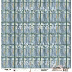 "Лист бумаги для скрапбукинга 30,5х30,5 см 190 гр/м односторон Окно в Париж ""Однажды в Париже"""