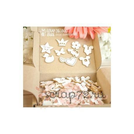 Набор коробочка счастья Baby (90 шт.)