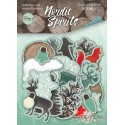 Набор высечек для скрапбукинга 59шт от Scrapmir Nordic Spirits