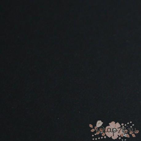 Кардсток гладний, цвет черный, А4, 290 гр/м