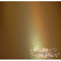 Кардсток жемчужный, цвет темное золото, А4, 230 гр/м