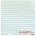 """Односторонняя бумага Морской единорог """"В облаках"""", 30.5*30.5 см, плотность 190 гр/м2."""