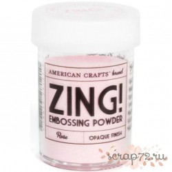 "Пудра для эмбоссинга матовая American Crafts ""ZING"" Розовый"