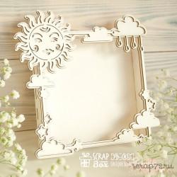 Фото-бокс (Photo Box) солнечный Pb-005, 108 x 108 x 20 мм