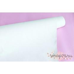 Ткань с глиттером, цвет бело-розовый хамелион, 0.7мм, отрез 34*50 см