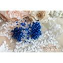Двусторонние тычинки, цвет синий, 5мм, 75 шт
