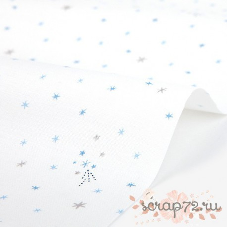 Хлопок Dailylike 357 shooting star, отрез 55*45см
