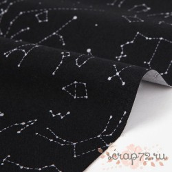 Хлопок Dailylike 345 Constellation, отрез 55*45см