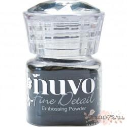 Пудра для эмбоссинга Nuvo, цвет Jet Black