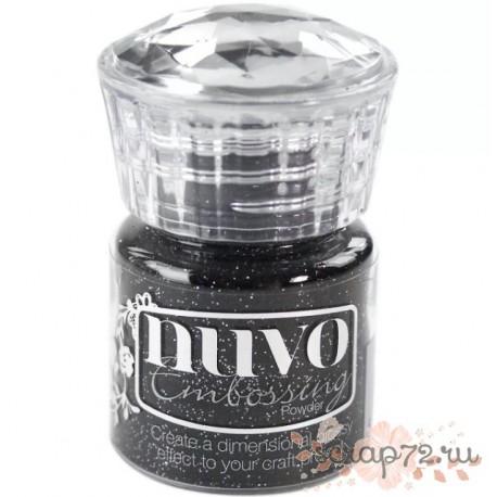 Пудра для эмбоссинга Nuvo, цвет Glitter Noir