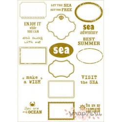 Пленка для шейкеров, разделителей- SEA adventure - frames