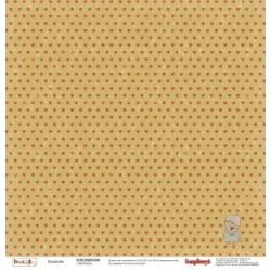 Бумага для скрапбукинга 30,5х30,5 см 180 гр/м двусторон Басик Влюблен