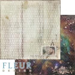 """Лист бумаги для скрапбукинга """"Виталик"""", коллекция """"Мой космос"""", 30,5х30,5 см, плотность 190 гр, FD1006304"""