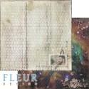 """Лист бумаги для скрапбукинга """"Виталик"""", коллекция """"Мой космос"""", 30,5х30,5 см, плотность 190 гр"""