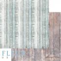 """Лист бумаги для скрапбукинга """"Дачный забор"""", коллекция """"Backstage"""", 30,5х30,5 см, плотность 190 гр, FD1006408"""