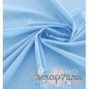 Однотонный хлопок, цвет голубой, 40*50см