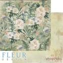 """Лист бумаги для скрапбукинга """"Полевые цветы"""", коллекция """"Дары полей"""", 30,5х30,5 см, плотность 190 гр"""