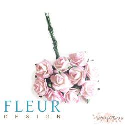 Мини-розочки Нежные, размер цветка 1 см, 10 шт/упаковка FD3072517