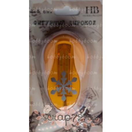Дырокол фигурный HB 2.5 см №203 - снежинка