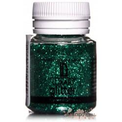 Декоративные Блестки LuxGlitter зеленый 20 мл