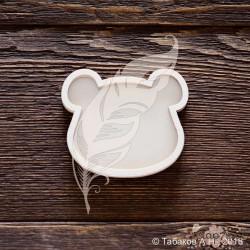 Шейкер мишка  6,5 х 5,6 см (4 элемента из картона + 1 пластиковая вставка)