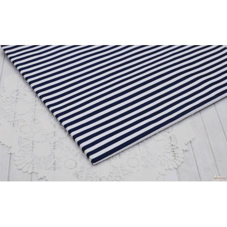 Хлопок Синяя полоска на белом, 53*50см