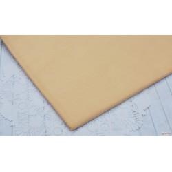Однотонный хлопок, цвет Светло-коричневый, 53*50см