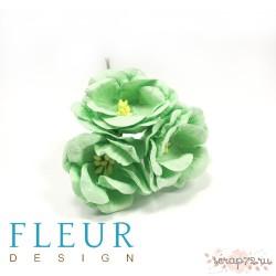 Цветы Магнолии мятные, размер цветка 4 см, 3 шт/упаковка FD3133166
