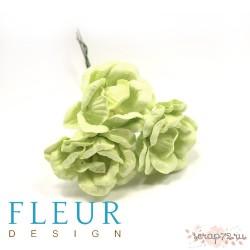 Цветы Магнолии светло-зеленые, размер цветка 4 см, 3 шт/упаковка FD3133161