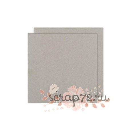 Картон переплетный, серый, толщина на выбор, 923г/м2, 15*15см