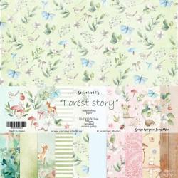 "Набор бумаги Summer Studio, коллекция: ""FOREST STORY"""