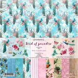 """Набор бумаги Summer Studio Коллекция: """"BIRD OF PARADISE"""""""