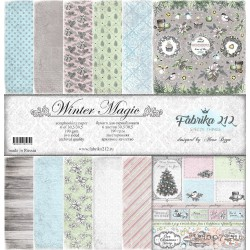 "Набор бумаги Summer Studio Коллекция: ""MAGIC WINTER"""
