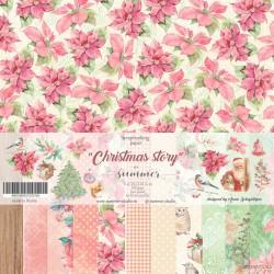 "Набор бумаги Summer Studio Коллекция: ""CHRISTMAS STORY"""