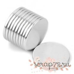 Неодимовый магнит 12*1мм