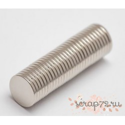 Неодимовый магнит 8х1мм