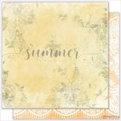 "Лист двухсторонней бумаги  ""LEAVES"", коллекция: ""Warm autumn"""