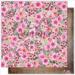"""Лист двухсторонней бумаги  """"FLOWERS SPLASH"""" , коллекция: """"Dreamland"""""""