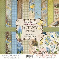 Набор скрапбумаги Botany spring 30,5x30,5 см 10 листов