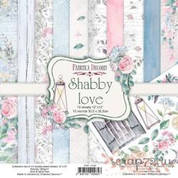 Набор скрапбумаги Shabby love 30,5x30,5 см 10 листов