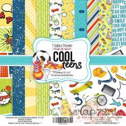 Набор скрапбумаги Cool Teens 30,5x30,5 см 10 листов