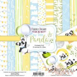 Набор скрапбумаги My little panda boy 30,5x30,5 см 10 листов
