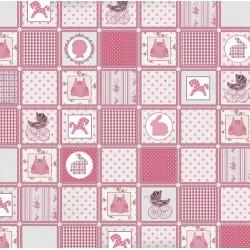 "Бумага для скрапбукинга ""Цветные"" розовое одеяло 30,5х30,5см, 140гр/м2"