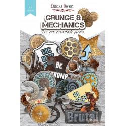 """Набор высечек коллекция """"Grunge&Mechanics"""" 77 шт"""