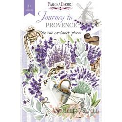 """Набор высечек коллекция """"Journey to Provence"""", 54 шт"""