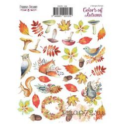 """Набор наклеек (стикеров) 35 шт """"Colors of Autumn"""". Набор 134"""