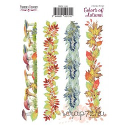"""Набор наклеек (стикеров) 4 шт """"Colors of Autumn"""". Набор 133"""